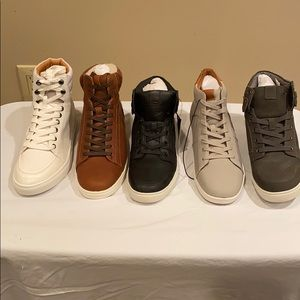 LOT OF 5 MEN LEFT FOOT ONLY SNEAKERS FROM EXPRESS